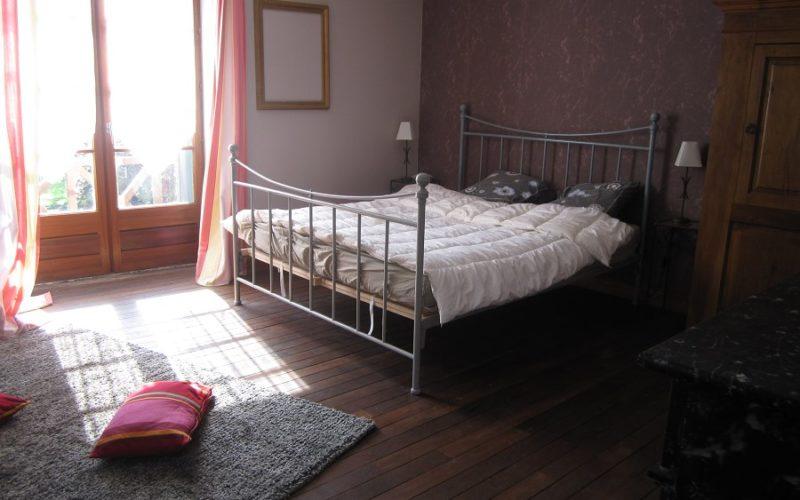 Gite-de-l-ile-Credit-Mme-Monnier-4jpg##Gîte de l'île - Chambre 2 (lit 160)##Crédit Mme Monnier ##