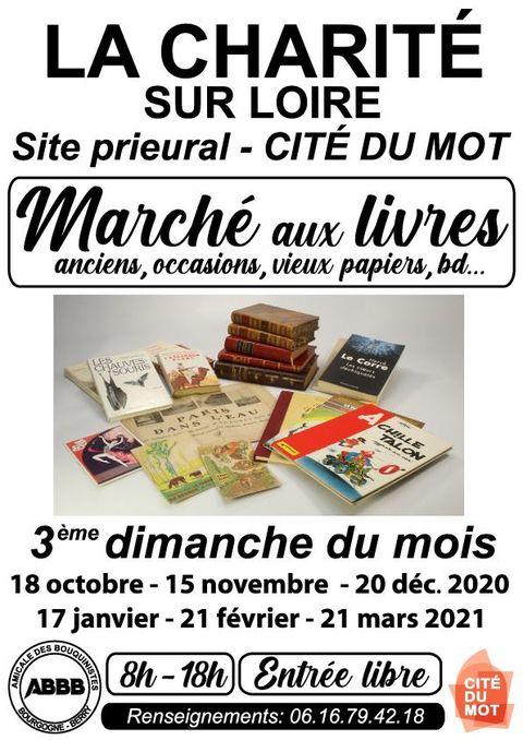 Marché aux livres La Charité-sur-Loire