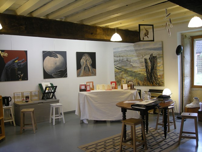 atelier-josiane-Benzi-Gagy-58700-La-Celle-sur-Nievrejpg##atelier du Ramoy Gagy 58700 La Celle sur Nièvre##Carlos ANIA ##